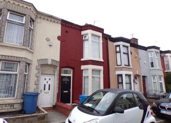 Thumbnail 3 bed terraced house for sale in Stevenson Street, Wavertree, Liverpool, Merseyside