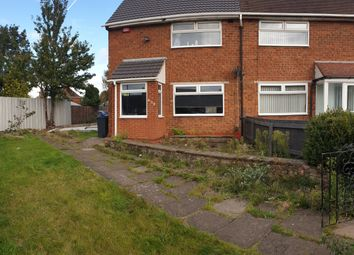 Thumbnail 2 bed semi-detached house for sale in Heathway, Shard End, Birmingham