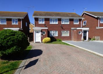 Thumbnail 3 bed semi-detached house for sale in Leeward Road, Littlehampton