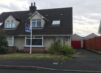 Thumbnail 3 bedroom semi-detached house for sale in Lagmore Dale, Dunmurry, Belfast