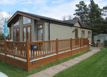 Thumbnail 2 bed mobile/park home for sale in Brockenhurst Park, Ranksborough Hall (Ref 5269), Langham, Oakham, Rutland