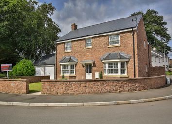 Thumbnail 4 bed detached house for sale in Crawshay Bailey Close, Gilwern, Abergavenny
