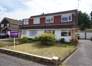 3 bed semi-detached house for sale in Bartons Drive, Yateley GU46