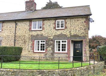 Thumbnail 2 bed semi-detached house to rent in Minterne Parva, Dorchester, Dorset