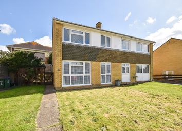 Thumbnail 2 bed semi-detached house for sale in Sandwich Close, Folkestone