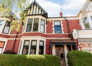 Thumbnail 5 bedroom terraced house for sale in Kimberely Rd, Cardiff