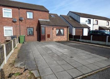 Thumbnail 3 bedroom end terrace house to rent in Bellsfield, Longtown, Carlisle