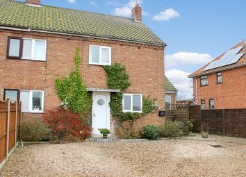 Thumbnail 3 bed semi-detached house for sale in Woodend Cottages, Stoven, Beccles
