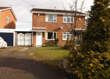 Thumbnail 2 bed semi-detached house for sale in Holbein Close, Bedworth