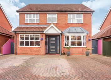 Thumbnail 4 bed detached house for sale in Ellen Way, New Waltham, Grimsby