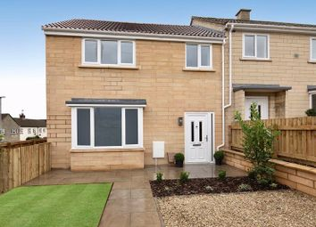 Holcombe Vale, Bathampton, Bath BA2. 3 bed end terrace house for sale