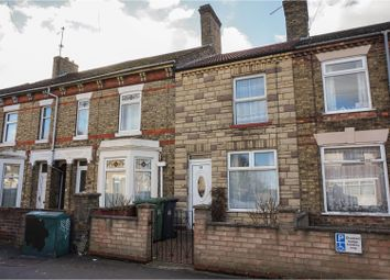 Thumbnail 2 bed terraced house for sale in New Road, Peterbourugh
