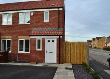 Thumbnail 2 bed town house to rent in Clover Mews, South Kirkby, Pontefract