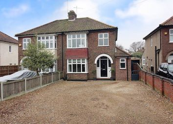 Thumbnail 3 bed semi-detached house for sale in Plumstead Road East, Thorpe St. Andrew, Norwich