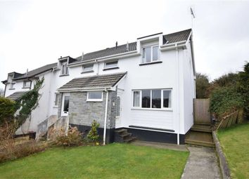 Thumbnail 3 bed terraced house to rent in Ward Close, Stratton, Cornwall