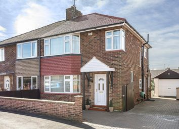 Thumbnail 3 bed semi-detached house for sale in Whitcliffe Grove, Whitcliffe Grove, Ripon