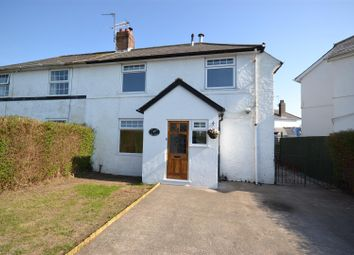 Thumbnail 3 bed link-detached house to rent in Bron Awelon, Barry