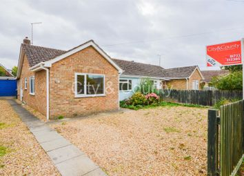 Thumbnail 3 bedroom semi-detached bungalow for sale in The Woodlands, Market Deeping, Peterborough