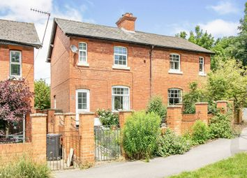 Thumbnail 2 bed semi-detached house for sale in Railway Cottages, Station Road, Tidworth