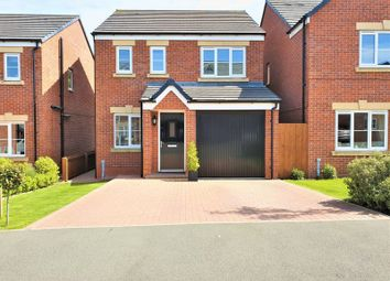 Thumbnail 3 bed detached house for sale in Ainscough Drive, Burscough, Ormskirk