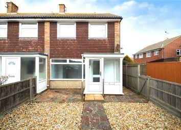 Thumbnail 3 bed end terrace house to rent in Kirdford Close, Rustington, Littlehampton
