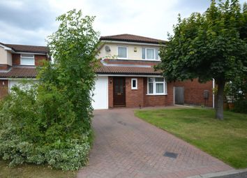 Thumbnail 3 bed detached house for sale in Falconers Green, Westbrook, Warrington