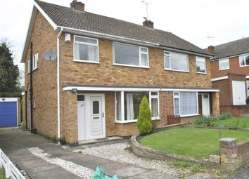Thumbnail 3 bed semi-detached house to rent in Somerby Drive, Oadby