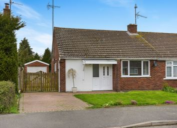 Thumbnail 2 bed semi-detached bungalow for sale in Manorfields Road, Old Stratford, Milton Keynes