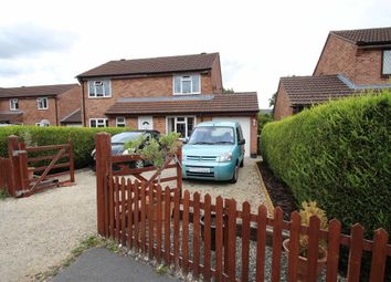 Thumbnail 2 bed semi-detached house for sale in Dorset Drive, Westbury, Wiltshire