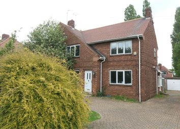 Thumbnail 3 bedroom semi-detached house for sale in Lawn Avenue, Woodlands, Doncaster, South Yorkshire