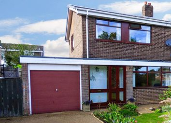 Thumbnail 3 bed semi-detached house for sale in The Pastures, Morpeth