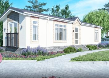 Thumbnail 2 bed mobile/park home for sale in Dome Caravan Park, The Spur, Lower Road, Hockley