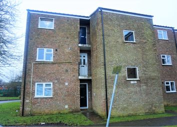 Thumbnail 1 bed flat for sale in Hunters Close, Northampton