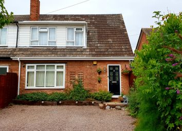 Thumbnail 3 bed semi-detached house for sale in Croxall Road, Edingale, Tamworth