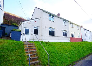 Thumbnail 3 bed semi-detached house for sale in North Road, Cross Keys, Newport
