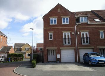 Thumbnail 4 bed terraced house for sale in Heather Lea, Blyth