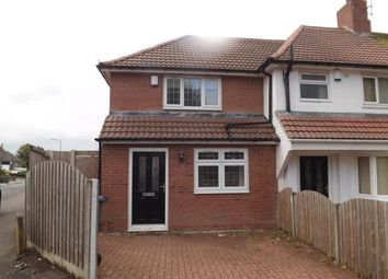 Thumbnail 2 bedroom end terrace house for sale in Castle Road West, Oldbury, West Midlands