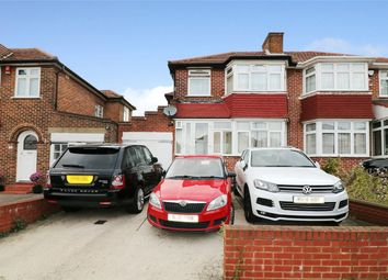 Thumbnail 3 bed semi-detached house to rent in Crowshott Avenue, Stanmore
