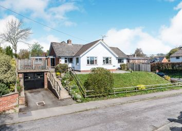 Thumbnail 4 bed detached bungalow for sale in Well Meadow, Burbage, Marlborough