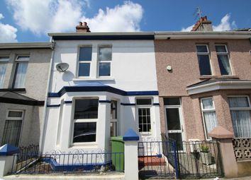 Thumbnail 2 bed terraced house for sale in Ferndale Avenue, Plymouth