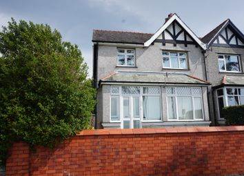 Thumbnail 4 bed semi-detached house for sale in Llanbeblig Road, Caernarfon