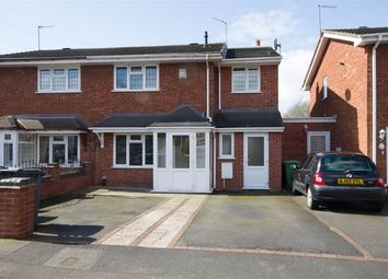 Thumbnail 3 bedroom semi-detached house for sale in Marlowe Drive, Willenhall, West Midlands