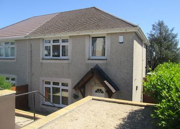 Thumbnail 3 bed semi-detached house for sale in Llangorse Road, Penlan, Swansea, City And County Of Swansea.