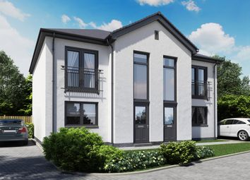 Thumbnail 2 bed semi-detached house for sale in Kinloch Court, Alexandria
