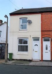 Thumbnail 2 bed end terrace house to rent in Norman Road, Wallasey, Wirral