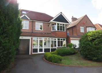 Thumbnail 5 bed detached house for sale in Bickenhill Road, Marston Green, Birmingham