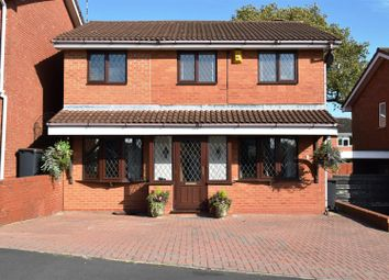 Thumbnail 4 bedroom detached house for sale in Fielding Way, Galley Common, Nuneaton