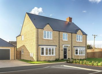 "Thumbnail 5 bed detached house for sale in ""The Haddenham"" at Calais Dene, Bampton"