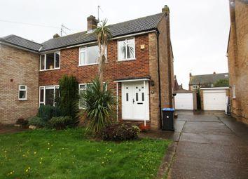 Thumbnail 3 bed semi-detached house to rent in Edward II Avenue, Byfleet