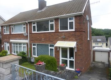 Thumbnail 3 bed semi-detached house for sale in Cwmgelli Close, Treboeth, Swansea
